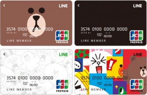 LINE_Pay_Card_4designs